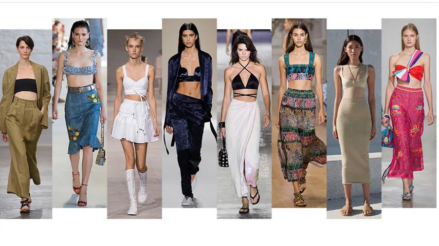 тренды женской одежды весна лето 2017 года