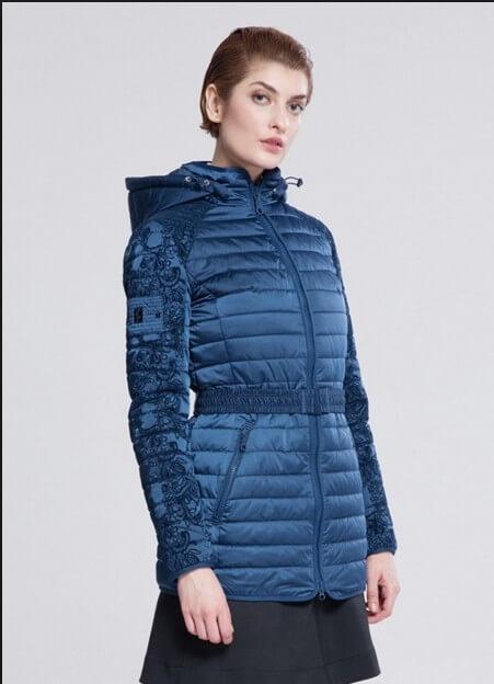 куртка парка демисезонная женская
